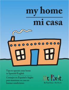 My Home Mi Casa - Book Cover